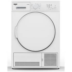 Bush TD7CNBCW 7KG Condenser Tumble Dryer - White Best Price, Cheapest Prices