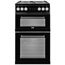 Beko KDV555AK Electric Cooker - Black Best Price, Cheapest Prices