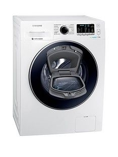 Samsung WW70K5410UW/EU 7kg Load, 1400 SpinAddWash™ Washing Machine with ecobubble™ Technology and 5 Year Samsung Parts and Labour Warranty - White Best Price, Cheapest Prices