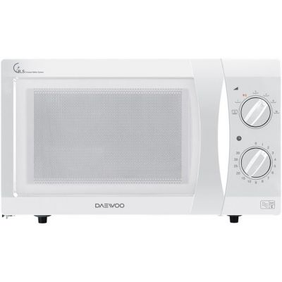Daewoo KOR6N35SR 20 Litre Microwave - White Best Price, Cheapest Prices
