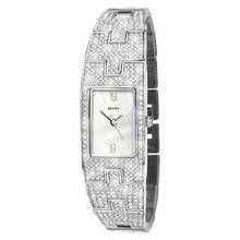 Seksy Ladies' Stainless Steel Crystal Strap Watch Best Price, Cheapest Prices