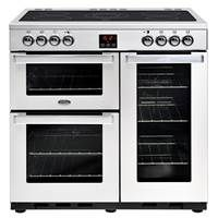 Belling Cookcentre 90E Professional 90cm Ceramic Range Cooker Best Price, Cheapest Prices