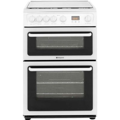 Hotpoint HAGL60P 60cm Gas Cooker - White Best Price, Cheapest Prices