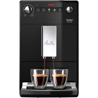 Melitta Purista Black F230-102 6766034 Bean to Cup Coffee Machine - Black Best Price, Cheapest Prices