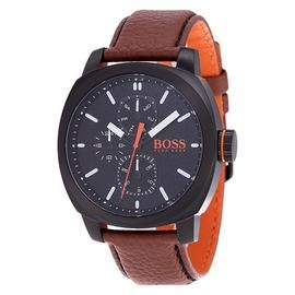Hugo Boss Orange Cape Town Men's Brown Leather Strap Watch Best Price, Cheapest Prices