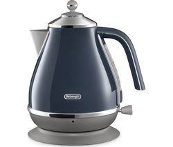 DELONGHI Icona Capitals KBOC3001.BL Jug Kettle - Blue Best Price, Cheapest Prices