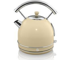 SWAN Retro SK34021BLN Traditional Kettle - Cream Best Price, Cheapest Prices