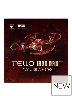 Ryze Tello (Iron Man Edition) - Powered by DJI Best Price, Cheapest Prices