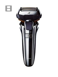 Panasonic ES-LV9Q 5 Blade Wet and Dry shaver with charging stand Best Price, Cheapest Prices