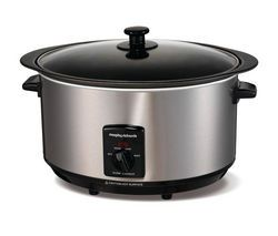 MORPHY RICHARDS 48705 Sear and Stew Slow Cooker - Stainless Steel