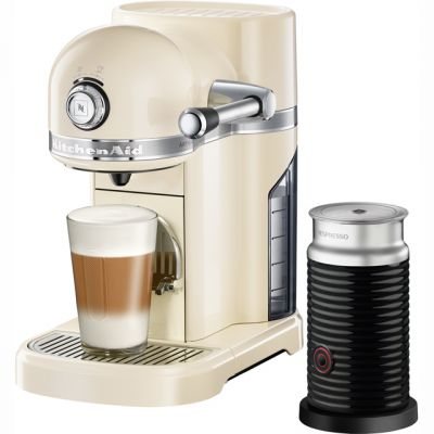 Nespresso By KitchenAid Artisan With Aeroccino3 5KES0504BAC - Cream Best Price, Cheapest Prices