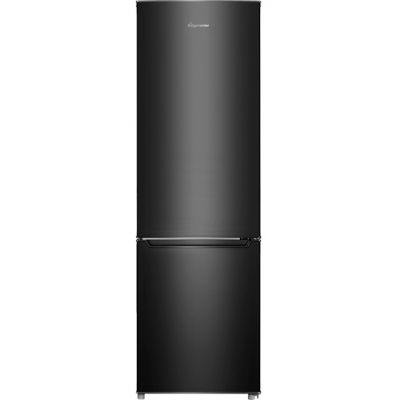Fridgemaster MC55264AB 70/30 Fridge Freezer - Black - A+ Rated Best Price, Cheapest Prices