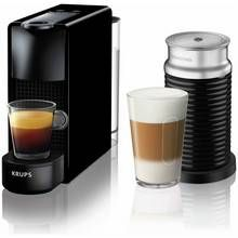 Nespresso by Krups Essenza Mini Pod Coffee Bundle - Black Best Price, Cheapest Prices