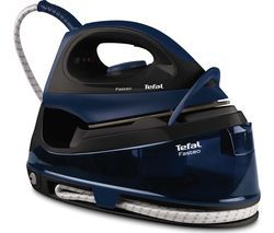 TEFAL Fasteo SV6050 Steam Generator Iron – Black & Blue Best Price, Cheapest Prices