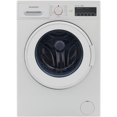 Daewoo DWDFV6441 9Kg Washing Machine with 1400 rpm - White - A+++ Rated Best Price, Cheapest Prices