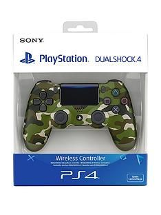 Playstation 4 DualShock 4 Wireless Controller V2 – Green Camouflage Best Price, Cheapest Prices