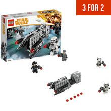 LEGO Star Wars Han Solo Imperial Patrol Battle Pack - 75207 Best Price, Cheapest Prices