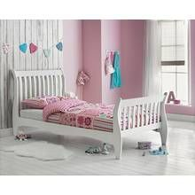 Argos Home Daisy White Single Sleigh Bed Frame Best Price, Cheapest Prices