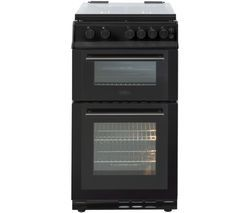 BELLING FS50GTCL 50 cm Gas Cooker - Black Best Price, Cheapest Prices