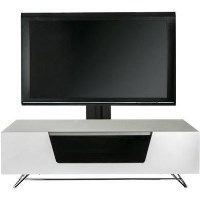 Alphason CRO2-1200BKT-WH Chromium 2 TV Cabinet with Bracket for up to 50