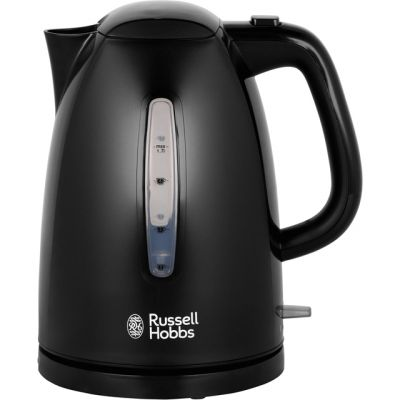 Russell Hobbs Textures 21271 Kettle - Black Best Price, Cheapest Prices