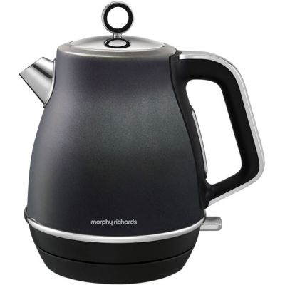 Morphy Richards Evoke 104405 Kettle - Black Best Price, Cheapest Prices
