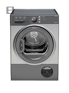 Hotpoint Aquarius TCFS73BGG 7kg Load Condenser Sensor Dryer - Graphite Best Price, Cheapest Prices