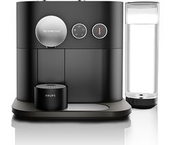 NESPRESSO by Krups Expert XN600840 Smart Coffee Machine - Black Best Price, Cheapest Prices