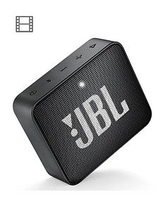 JBL GO 2 Wireless Bluetooth Speaker with IPX7 Water-Resistant Rating, 5 Hours Playtime and Call Handling - Black Best Price, Cheapest Prices