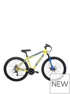Barracuda Barracuda Draco 4 21 Inch Hardtail 24 Speed 27.5 Inch Yellow Blue Disc brakes Best Price, Cheapest Prices
