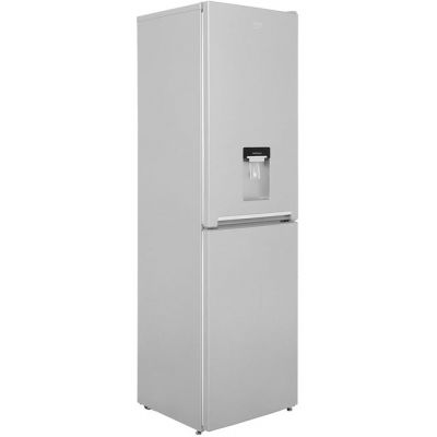 Beko CRFG1582DS 50/50 Frost Free Fridge Freezer - Silver - A+ Rated Best Price, Cheapest Prices