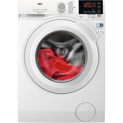 AEG ProSense Technology L6FBG841CA Wifi Connected 8Kg Washing Machine with 1400 rpm - White - A+++ Rated Best Price, Cheapest Prices