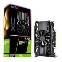 EVGA GeForce GTX 1650 XC Black GAMING 4GB GDDR5 Graphics Card, 896 Core, 1485MHz GPU, 1665MHz Boost Best Price, Cheapest Prices