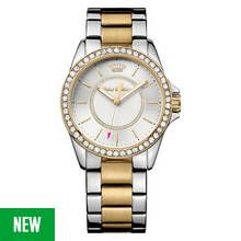 Juicy Couture Ladies' Laguna Two Tone Bracelet Watch Best Price, Cheapest Prices