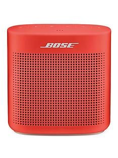 Bose SoundLink® Colour Bluetooth® Speaker Series II - Coral Red Best Price, Cheapest Prices