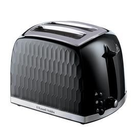 Russell Hobbs 26061 Honeycomb 2 Slice Toaster - Black Best Price, Cheapest Prices