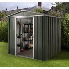 Yardmaster Deluxe Metal Shed with Support Frame - 6 x 4ft