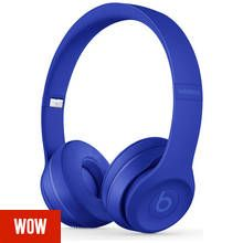 Beats by Dre Solo 3 Wireless On-Ear Headphones- Break Blue Best Price, Cheapest Prices