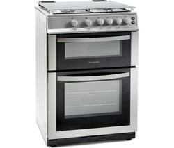 MONTPELLIER MDG600LS 60 cm Gas Cooker - Silver Best Price, Cheapest Prices