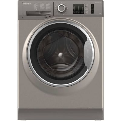 Hotpoint NM10844GSUK 8Kg Washing Machine with 1400 rpm - Graphite - A+++ Rated Best Price, Cheapest Prices