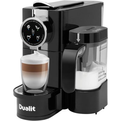 Dualit 85180 Pod Coffee Machine - Black / Chrome Best Price, Cheapest Prices