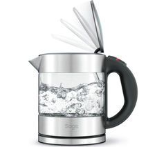 SAGE Compact Pure BKE395UK Jug Kettle - Stainless Steel & Glass Best Price, Cheapest Prices