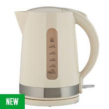 Cookworks Illumination Kettle - Cream Best Price, Cheapest Prices