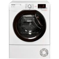 Hoover DXC9DKE Dynamic Next Aquavision 9kg Freestanding Condenser Sensor Tumble Dryer With One Touch Best Price, Cheapest Prices