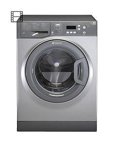 Hotpoint Aquarius WMAQF721G 1200 Spin, 7kg Load Washing MachineA+ Rated Energy - Graphite Best Price, Cheapest Prices