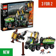 LEGO Technic Forest Machine Forklift 2in1 Toy Truck - 42080 Best Price, Cheapest Prices