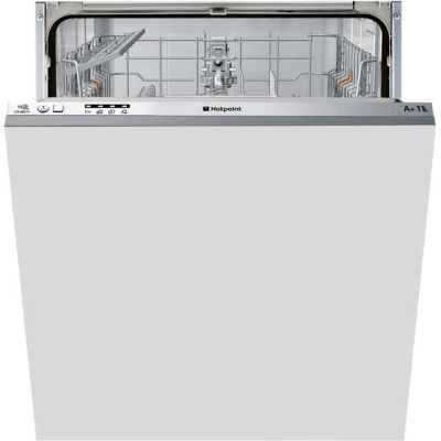 Hotpoint Aquarius LTB4B019 Fully Integrated Standard Dishwasher - Grey Control Panel with Fixed Door Fixing Kit - A+ Rated Best Price, Cheapest Prices