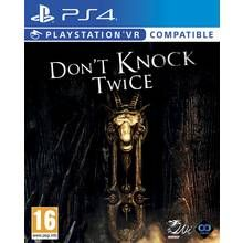 Don't Knock Twice PS4 VR Game Best Price, Cheapest Prices