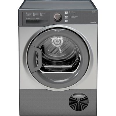 Hotpoint TCFS83BGG 8Kg Condenser Tumble Dryer - Graphite - B Rated Best Price, Cheapest Prices
