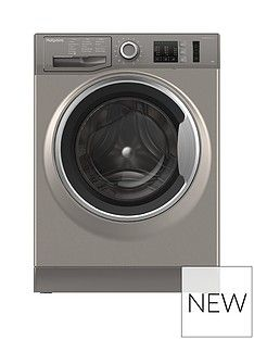 Hotpoint NM10944GS 9kg Load, 1400 Spin Washing Machine - Graphite Best Price, Cheapest Prices